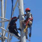Protección para trabajo en alturas